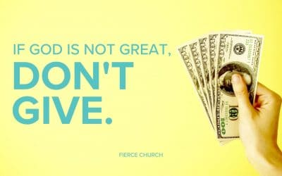 If God Is Not Great, Don't Give