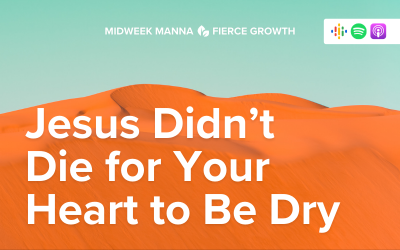 Jesus Didn't Die for Your Heart to Be Dry